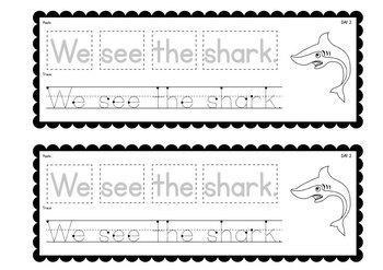 Printable Writing Activities Book - Ocean / Under the Sea Theme