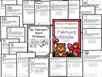 Kindergarten Printables Bundle - February