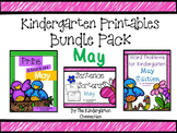 Kindergarten Printables Bundle - May