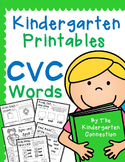 Kindergarten Printables - CVC Words