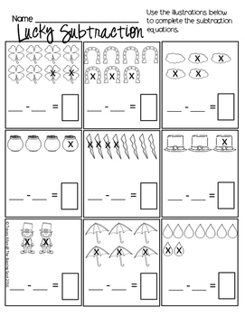 Kindergarten Printables: March Themed