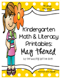 Kindergarten Printables: May Themed