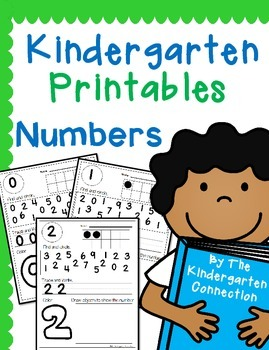 Kindergarten Printables - Numbers