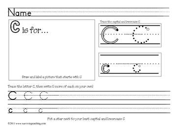 Kindergarten Printing