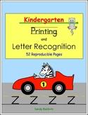 Kindergarten Printing & Letter Recognition