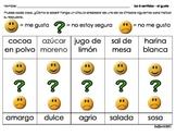 Kindergarten - Probar el gusto - Los 5 sentidos