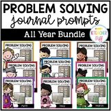 Kindergarten Problem Solving Math Journals Bundle