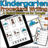 Procedural Writing - A Kindergarten Digital Writing Resource