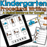 Procedural Writing - A Kindergarten Digital Writing Resource