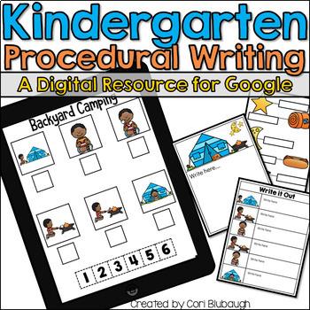 Kindergarten Procedural Writing