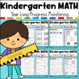 Kindergarten Progress Monitoring MATH Assessments