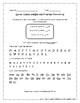 Kindergarten Progress Monitoring Pages