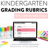Kindergarten CCSS Grading Rubrics