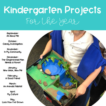 Kindergarten Projects for the Year