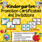 End of the Year Awards: Kindergarten Diploma Promotion Certificate & Invitations