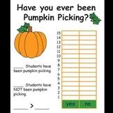 Kindergarten Pumpkin Activities