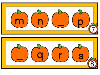 Kindergarten Pumpkin Centers Bundle - 14 Pumpkin Math and Literacy Centers