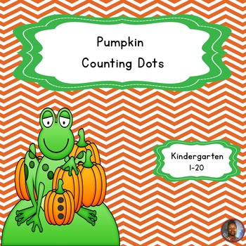 Kindergarten Pumpkin Counting Dots