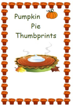 Kindergarten Pumpkin Pie Cooking Activity