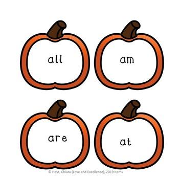 Kindergarten Sight Words- 52 Sight Word Practice Activity Cards