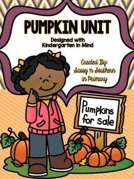 Kindergarten Pumpkin Unit