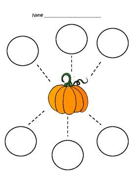 Kindergarten Pumpkins Unit