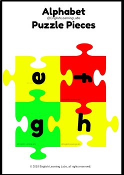 Kindergarten Puzzle Kit ( English Language Arts and Math (Pre-K - Grade 1)