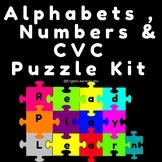 Kindergarten Puzzle Kit ( English Language Arts and Math (
