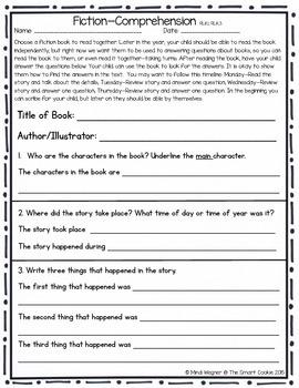 Kindergarten Quarter 2 Homework /Morning Work