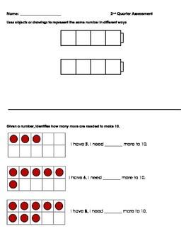 Kindergarten Quarterly Assessment