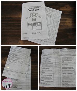 Kindergarten Quarterly report card