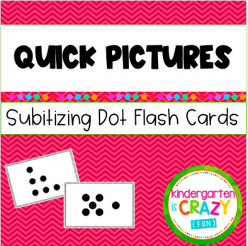 Kindergarten Quick Pictures Dot Cards 3-9