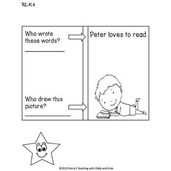Kindergarten READING LITERATURE Interactive Notebook and Anchor Charts!