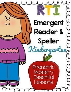 ***FREEBIE***Kindergarten RTI - Phonics Fluency