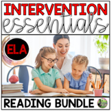 Reading Small Group & Intervention Essentials (the BUNDLE)