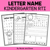 Kindergarten RTI for Letter Identification