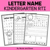 Kindergarten RTI Letter Identification