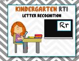 Kindergarten RTI Letter Recognition
