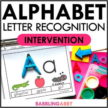 Kindergarten RTI: Intervention Activities | Alphabet ELA Distance Learning