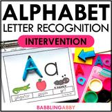 Back to School Kindergarten Alphabet Activities Intervention