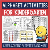 Letter Recognition and Letter Sounds RTI Kit