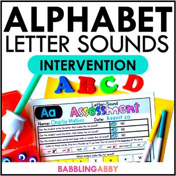 Kindergarten RTI: Letter-Sound Correspondence Intervention Curriculum