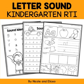 Response to Intervention RTI - Letter Sounds