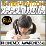 Phonemic Awareness Essentials: Small Group and Intervention Resources