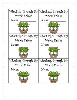Kindergarten RTI Sight Word Fluency