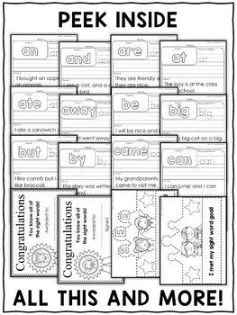 Kindergarten RTI Sight Words