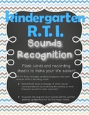 Kindergarten RTI Sounds Recognition