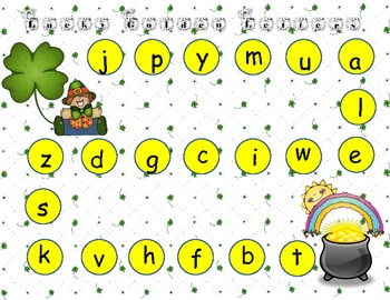 Kindergarten RTI for Letters, Sounds, Nonsense CVC Words