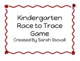 Kindergarten Race to Trace to 30 Game
