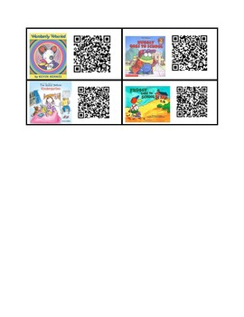 Kindergarten Read Alouds - QR Codes for Independent Reading